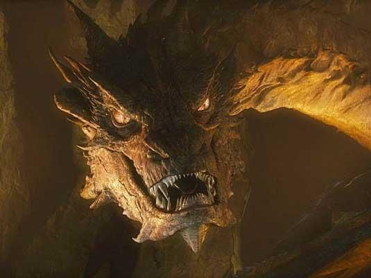 smaug1 - smok z filmu Hobbit